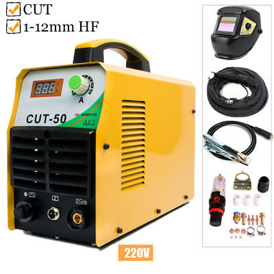 CUT50 DC Inverter Digital Air Plasma Cutter 220V Cutting Machine & Accessories