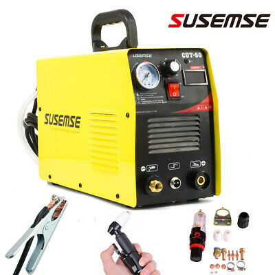 Plasma Cutter 50A CUT50 230V DC Inverter Air Plasma Cutting Machine &Torch &Kits