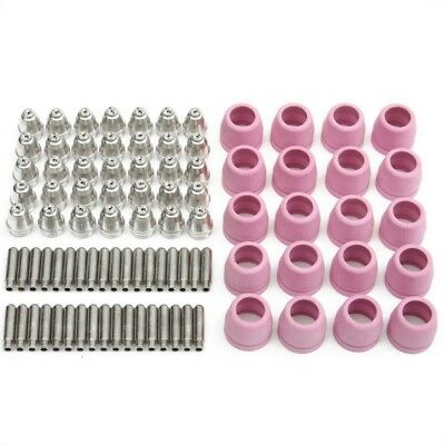 90pcs AG60 WSD-60P Plasma Cutter Torch Consumables Kits Electrodes Tips CUT50/60