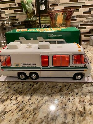 Vintage 1978 Hess Toy Training Van w/box, inserts and card, Near Mint
