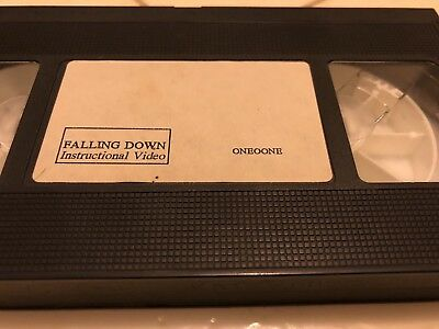"""Rare VHS Skate Video 101 Skateboards Oneoone """"Falling Down"""" Instructional Video"""