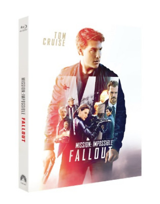 """ MISSION IMPOSSIBLE : FALL OUT  "" Blu-ray STEELBOOK LE (BD+BONUS DISC)"