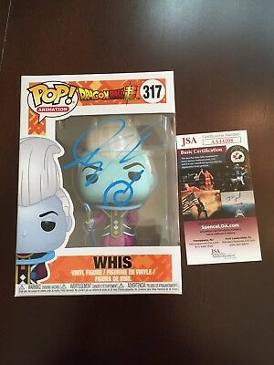 Ian Sinclair Signed Whis Dragon Ball Z Funko Pop JSA COA Autographed Auto