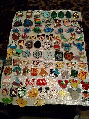 Disney Pins  Different Pins Mixed Lot Fast Usa Seller