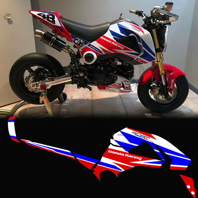 CUSTOM GRAPHICS KIT for 2014 2015 2016 honda grom cbr 1000 theme