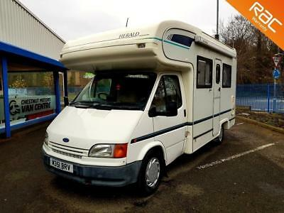 d7fcec8b26 Ford Transit Herald 150 4 Berth Motorhome Very Low Miles Video Available