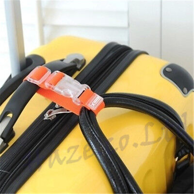 Adjustable Travel Luggage Suitcase Buckle Tie Down Strap Packing Belt Band 2017