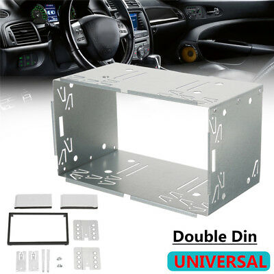 2 Din Car DVD Frame Mount Fascia Panel for VW Jetta Chico Golf Bora Polo MK3 MK4
