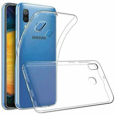 For Samsung A6 A7 A8+ A9 2018 M20 A50 Ultra Thin Clear Soft Silicone Case Cover