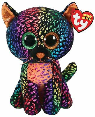 """Ty Beanie Boos ~SPELLBOUND~ the Cat 6"""" Claire's Exclusive 2018 MWMT"""