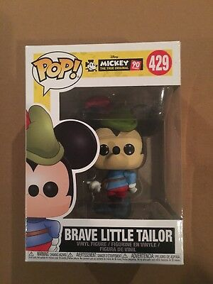 Funko Pop Disney: Mickey Mouse 90Th Brave Little Tailor!