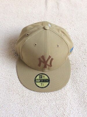 CASQUETTE NEW ERA NY Yankees beige 59 Fifty baseball - taille  7 1 8 ... 3baa7bfdb95d
