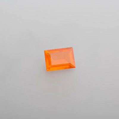 Opales de Feu de Mexique Env. 13 X 9,5 mm Rectangle Env. 3,89 Ct (7 Hlm )