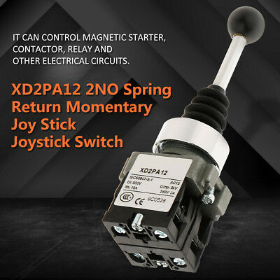 2 Position 2NO Locked Joystick Switch Replacement Fits for XD2PA12 DE