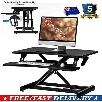 Adjustable Standing Desk Sit to Stand Laptop table holder tray for Office Home