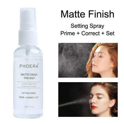 PHOERA 50ml Fixer Spray - Long Lasting Makeup Fixing Setting Spray Gift