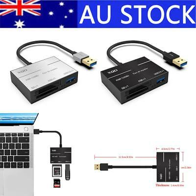 Super Speed Metal Card Reader Compatible with USB 3.0/2.0 XQD Card Adapter