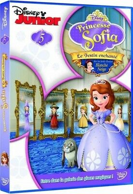 Princess Sofia - 5 - The feast enchanted (guest Snow White) DISNEY DVD NEW