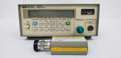 Agilent/HP 437B Power Meter 8482B High Power Sensor, No 30dB Attenuator/No Cable