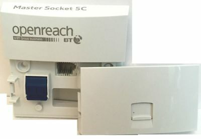 Bt Openreach Master Socket Nte5C Mk2 Nte5A Replacement Telephone Linebox Tooless