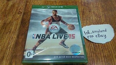 NBA Live 15 for Xbox One *FACTORY SEALED* PAL