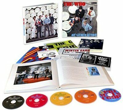 The Who:  My Generation, Super Deluxe Edition (5 CD Box Set) New & Sealed
