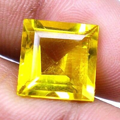 AAA Gemstone 5 - 10 CT Myanmar Natural Yellow Topaz Mix Shape GIE Certified