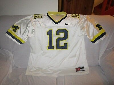 Nfl College Football Michigan Wolverines Nike Jersey Size Xl #12