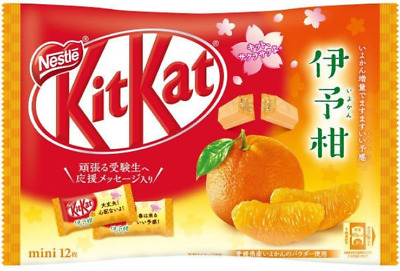 Japanese Kit-Kat Iyokan KitKat Chocolates 12 bars Japan import NEW