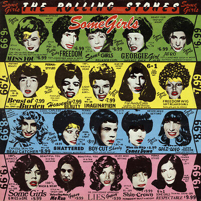 "Rolling Stones Some Girls Poster 32x32"" 24x24"" Album Cover Fabric Print"