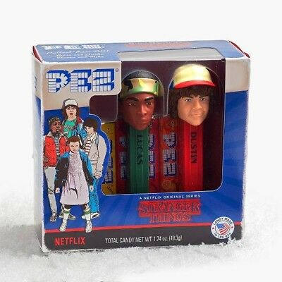 COLLECTIBLE  Stranger Things Pez Lucas and Dustin
