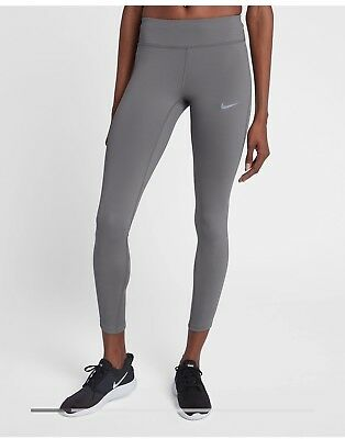 62cf026ef8358 $85 NEW Women's Nike Power Epic Lux Running Tights 890323 036 XS L Gunsmoke  Crop