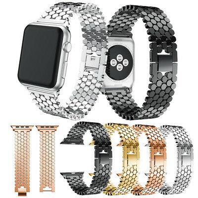 38/42mm Stainless Steel Bracelet iWatch Band Strap fr Apple Watch Series 4 3 2 1