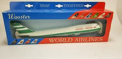 Wooster #223 CATHAY PACIFIC B747-400 World Airlines Scale Model Aircraft Plane