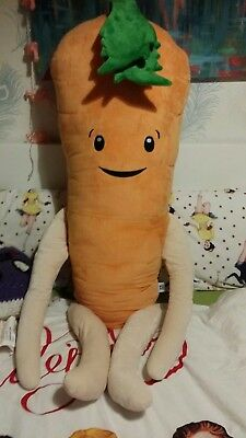 NEW Aldi 2018 Giant Kevin the Carrot Large Big Huge Soft 1m Cuddly Plush Toy