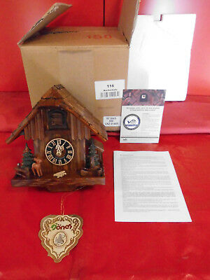 Original Black Forest Cuckoo-Clock, Cuckoo Clock with Certificate New Package