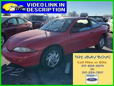 1997 Chevrolet Cavalier  Used 97  Chevrolet Cavalier I4 Manual FWD Coupe Red No Reserve