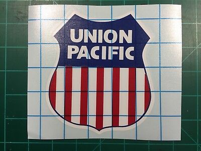 Union Pacific Decal - UP Shield