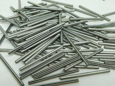 "(99 Pieces) 1/8 X 2"" 420 Ss Stainless Steel Spring Pins Roll Pin Slotted Nh"