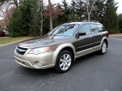 2008 Outback 2.5i 2008 Subaru Outback 2.5i Wagon AWD 5 Speed Manual 1 Owner Sharp Color Must See