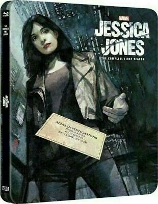 Jessica Jones: The Complete First Season Zavvi Exclusive SteelBook [Blu-ray]