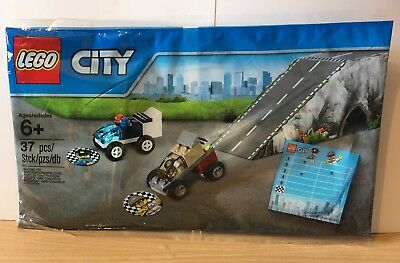 Bnip Lego City 5004404 Police Chase With Ramp Polybag 499