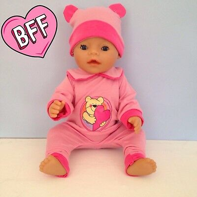"""17"""" dolls clothes for Baby Born Dolls. Dolls One Piece Suit"""