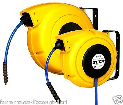 Hose Reel Automatic Winder Tube Retractable For Air Water
