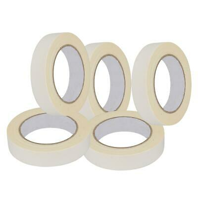 Low Tack Masking Tape Indoor Outdoor DIY Painting Decorating 24-50mm x 50m