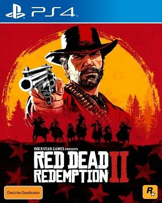 Red Dead Redemption 2, Playstation 4, PS4 game,  BRAND NEW