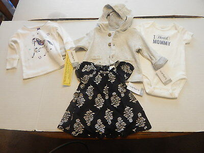 Lot of Carters Baby Girls Clothes 6 Mon