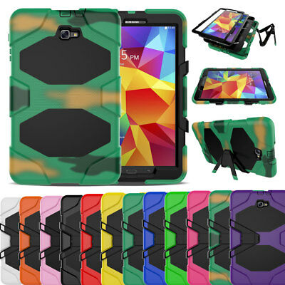 Screen Protector Rugged Case Cover For Samsung Galaxy Tab A A6 10.1 SM-T580 T585
