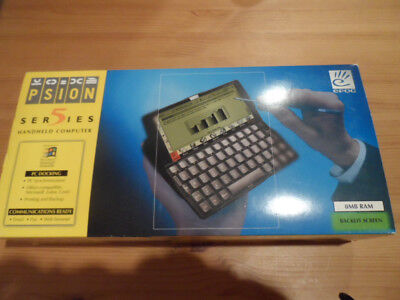 Psion Series 5 PDA 8mb boxed and complete with Psi Win 2 software