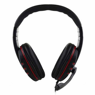 Gaming Headset Stereo Surround Headphone 3.5mm Wired Mic For PS4 Laptop Xbox PS3